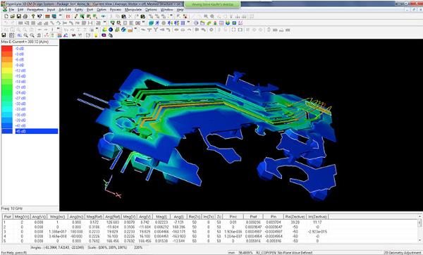 Результат формирования 3D full-wave EM-модели