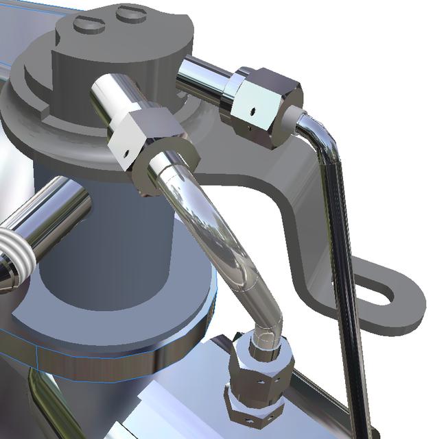 Проектирование трубопроводов по внутреннему и наружному конусу