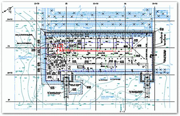 Горизонтальная планировка