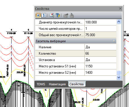Рис.11 Расчет мест установки гасителей вибрации