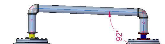 Рис. 22. Solid Edge позволяет смоделировать технологический уклон, используя стандартные фитинги